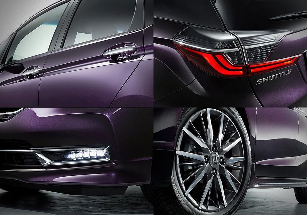 Honda Fit Shuttle Wagon 2021 บนพื้นฐาน Fit/Jazz ภาพ ...